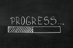 прогресс Стоковое фото RF