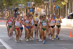 прогулка атлетики Стоковые Фото