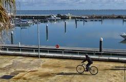 Прогулка велосипеда на выходных Стоковая Фотография