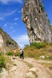 прогулка гор стоковая фотография rf