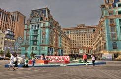 Прогулка доски Atlantic City перед ураганом Sandy Стоковое Изображение RF