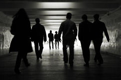 прогулка людей Стоковая Фотография RF