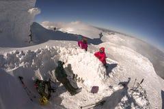 Прогулка на верхней шипучке Иване Chornaya Gora Стоковая Фотография