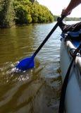 Прогулка на катамаране с веслами стоковое изображение rf