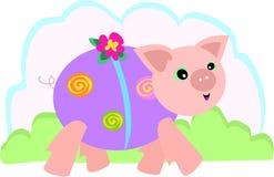 прогулка свиньи Стоковые Фотографии RF