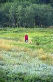 прогулка сельской местности Стоковые Изображения RF
