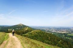 прогулка холмов Стоковое фото RF