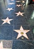прогулка hollywood славы Стоковые Фотографии RF