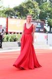 Прогулки Hannah большие красный ковер стоковые изображения rf