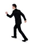 Прогулка бизнесмена отсутствующая Стоковое Изображение RF