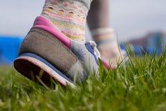 Прогулка весны в парке Стоковые Фото