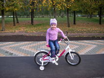 Прогулка велосипеда Стоковые Фотографии RF
