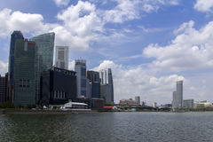 Прогулка взморья Сингапура Стоковое Фото