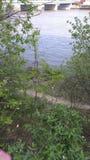 Прогулка вдоль реки Стоковая Фотография