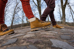 Прогулка в свежем воздухе Стоковое фото RF