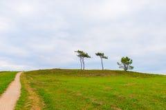 Прогулка в северной Испании стоковое изображение rf