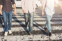 Прогулка в центре города, космосе экземпляра Стоковые Фотографии RF