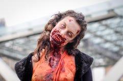 Прогулка зомби Стоковое Фото