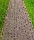 прогулка камня путя блока Стоковые Изображения RF
