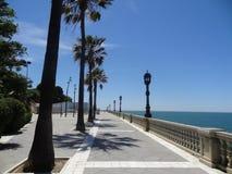Прогулка Кадиса, Испании Стоковое Изображение RF