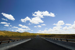Прогулка к горизонту Стоковые Фотографии RF