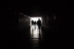 Прогулка к свету Стоковая Фотография