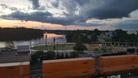 Прогулка Монтгомери Рекы Алабама Стоковое Изображение RF
