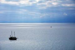 Прогулка на яхте Антальи стоковое изображение rf