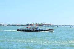 Прогулка на яхте, Венеция Стоковое Изображение RF