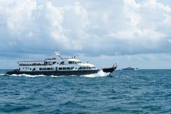 Прогулка на яхте Стоковое Изображение