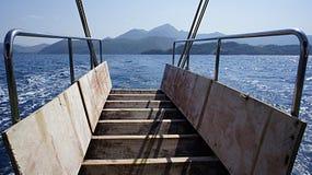 Прогулка на яхте Стоковые Изображения