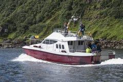 Прогулка на яхте Стоковые Изображения RF