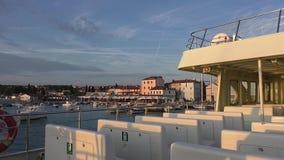 Прогулка на яхте Fazana, istrie, Хорватия 190136 сток-видео