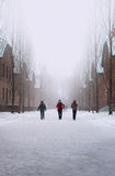 Прогулка Освенцима Стоковые Фотографии RF