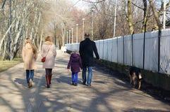 Прогулка парка стоковая фотография rf