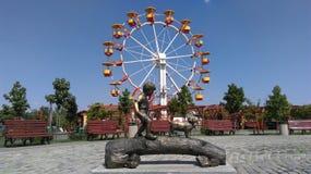 прогулка парка Стоковая Фотография