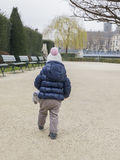 прогулка парка Стоковое Изображение RF