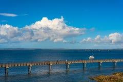 Прогулка пристани Bellingham Стоковое Изображение RF