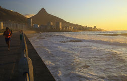 Прогулка пункта моря (II) стоковые фотографии rf