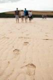 прогулка пляжа стоковые фото