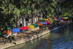 Прогулка реки в Сан Антонио Техас стоковые изображения