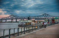прогулка реки New Orleans Стоковые Фото