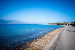 Прогулка рядом с пляжем Стоковое Изображение RF