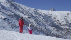 прогулка снежка Стоковое фото RF