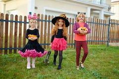 Прогулка хеллоуина Стоковая Фотография