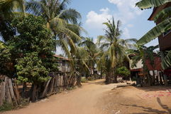 Прогулка через деревню Стоковые Изображения