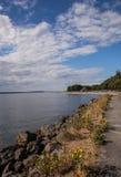 Прогулка Bayfront Стоковое Фото