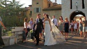прогулка groom невесты акции видеоматериалы