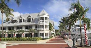 Прогулка Key West, панорамный взгляд, Флорида Стоковое фото RF