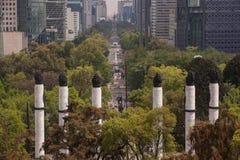 Прогулка Reforma стоковое фото